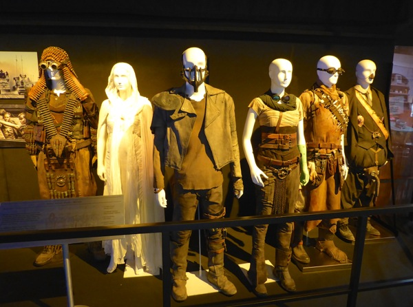 Mad Max Fury Road movie costume exhibit