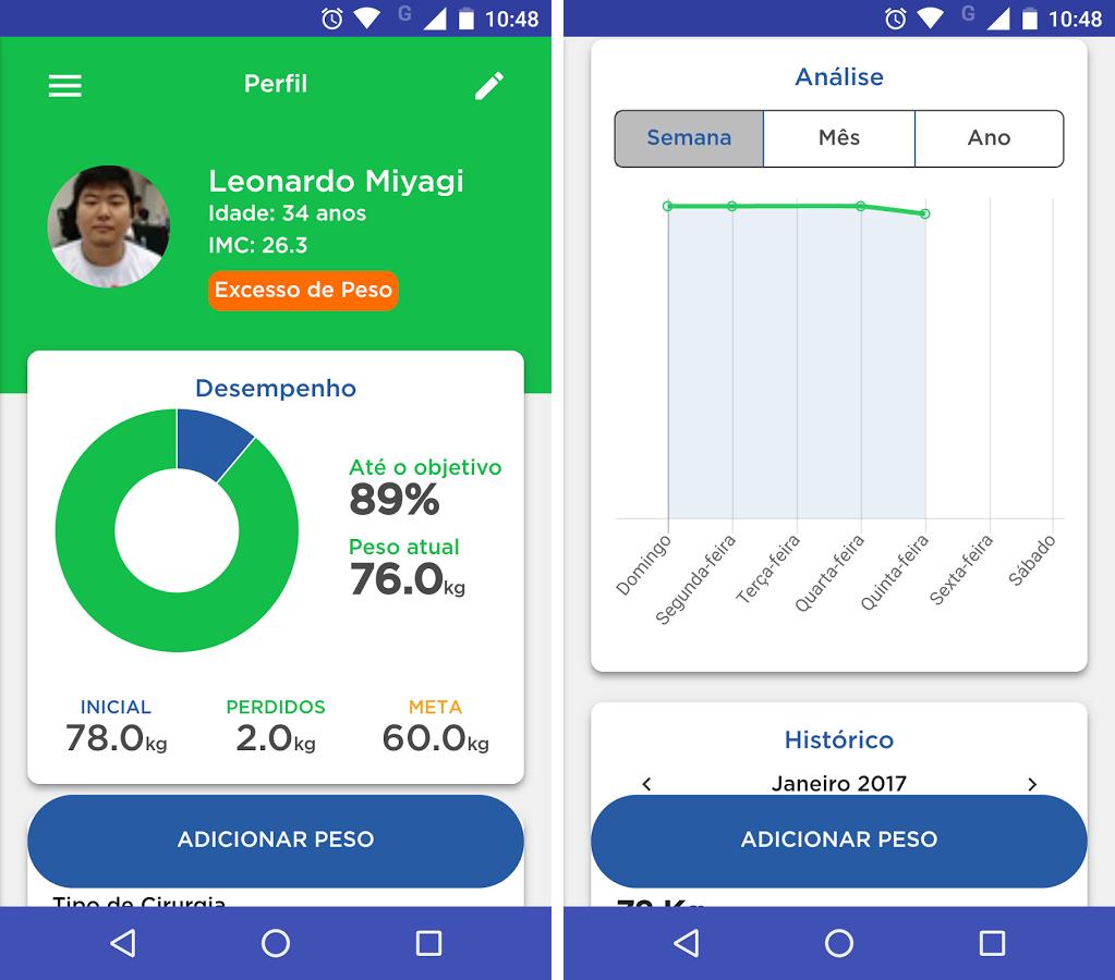 App de perda de peso gratis