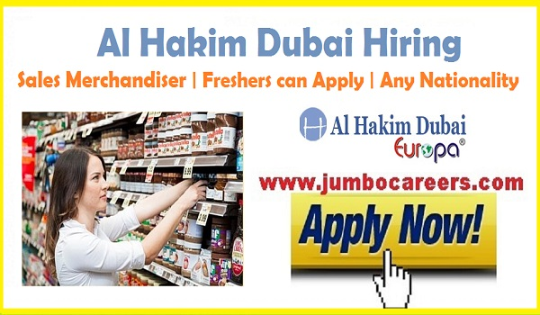 Sales Merchandiser jobs for freshers June 2018, Fresh & Experienced jobs in Dubai,