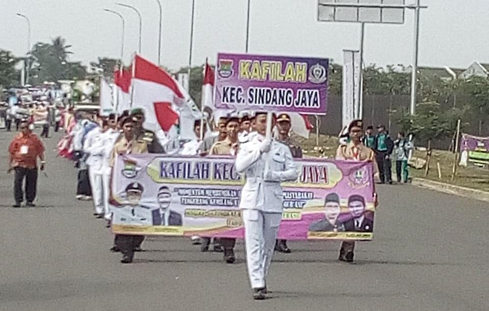 Pawai Tarub MTQ Ke 49 Kabupaten Tangerang Berlangsung Meriah