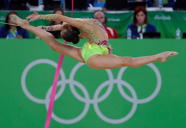 Neviana Vladinova gimnasta Bulgaria