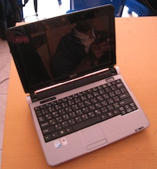 jual netbook 2nd acer aod150