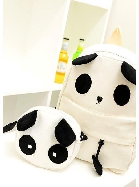 Tas import 0219 Panda Head 2in1