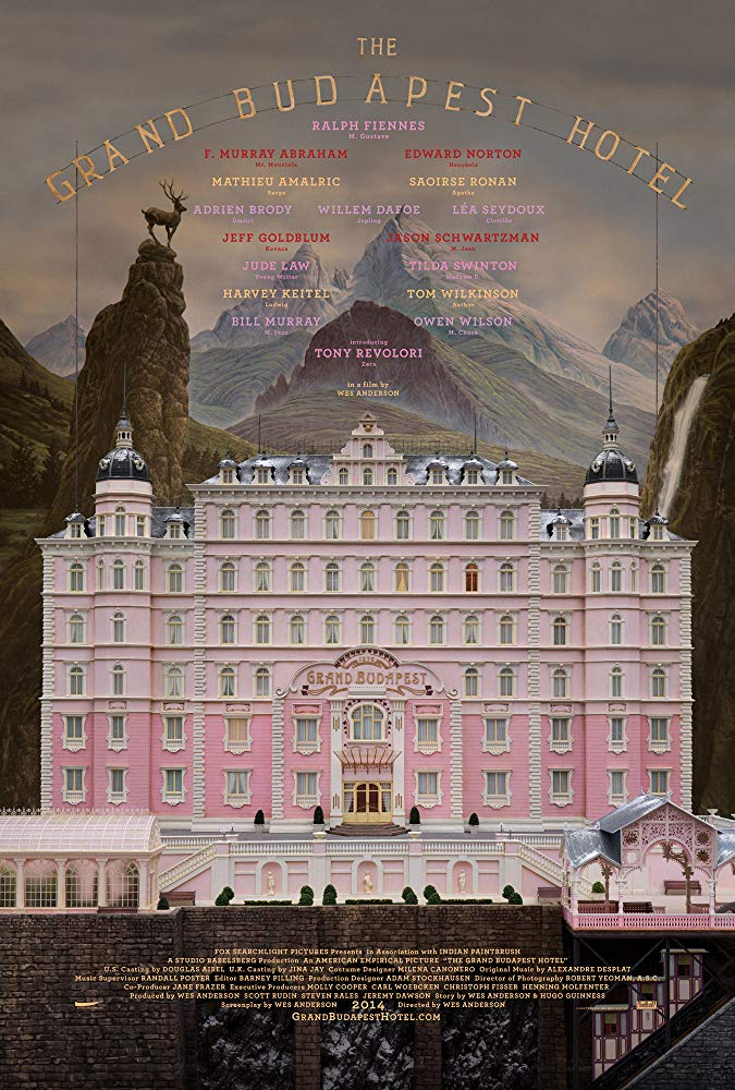 The Grand Budapest Hotel 2014 English Movie Bluray 720p With Bangla Subtitle