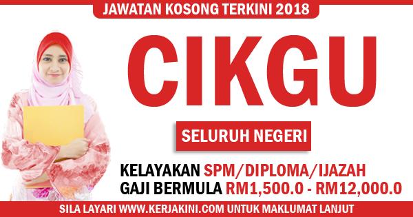 kerja kosong malaysia 2019