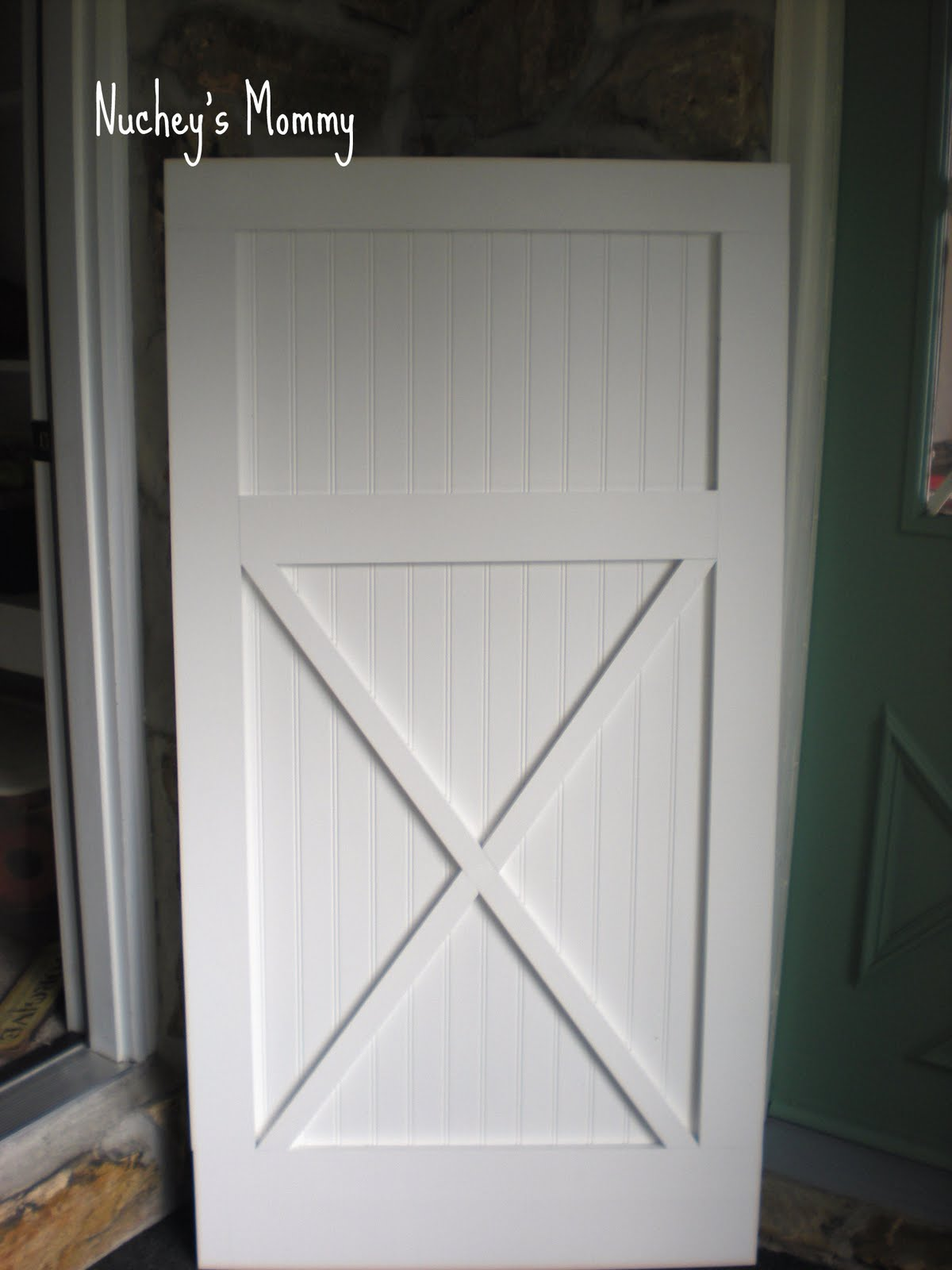 Barn style doors (stage 2) & Barn style doors (stage 2) - Four Generations One Roof