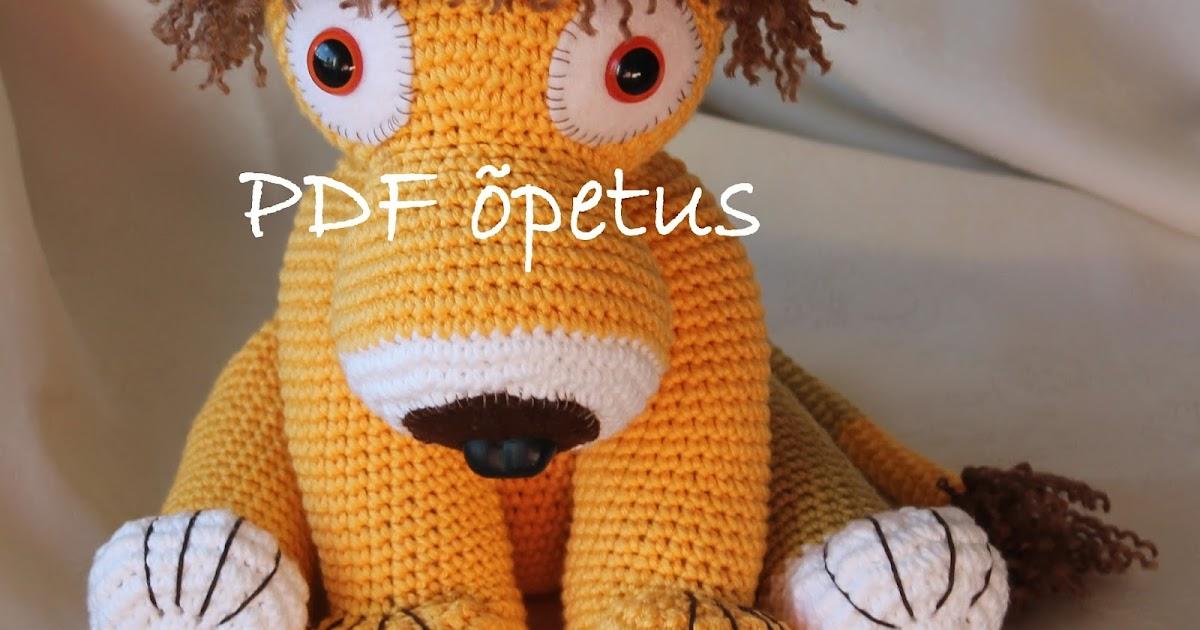 2831005fc62 Väikesed Ilunikerdused: Lõvi Lennart - amigurumi mänguasja õpetus