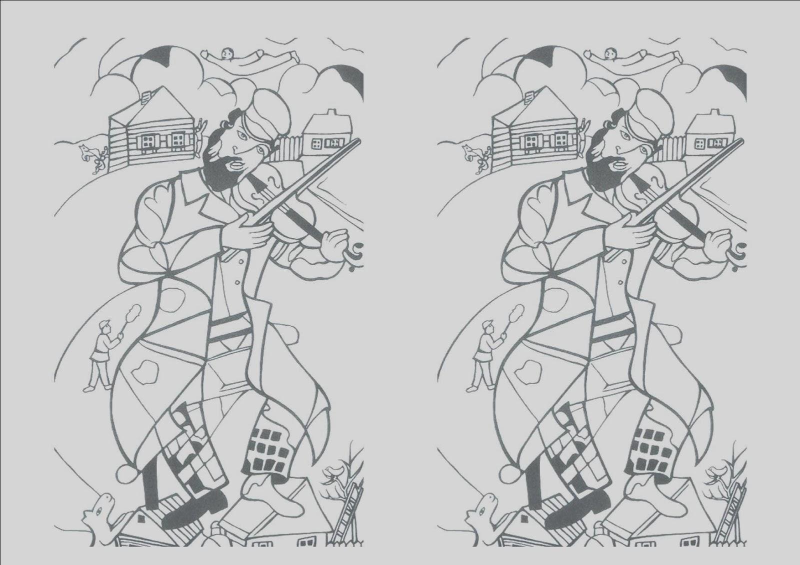 Música en El Palo: Cuaderno de arte: Chagall y el