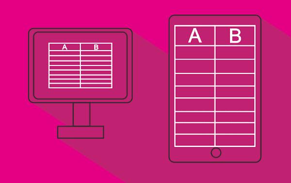 Cara Mudah Membuat Tabel Responsive 100% di Blogger
