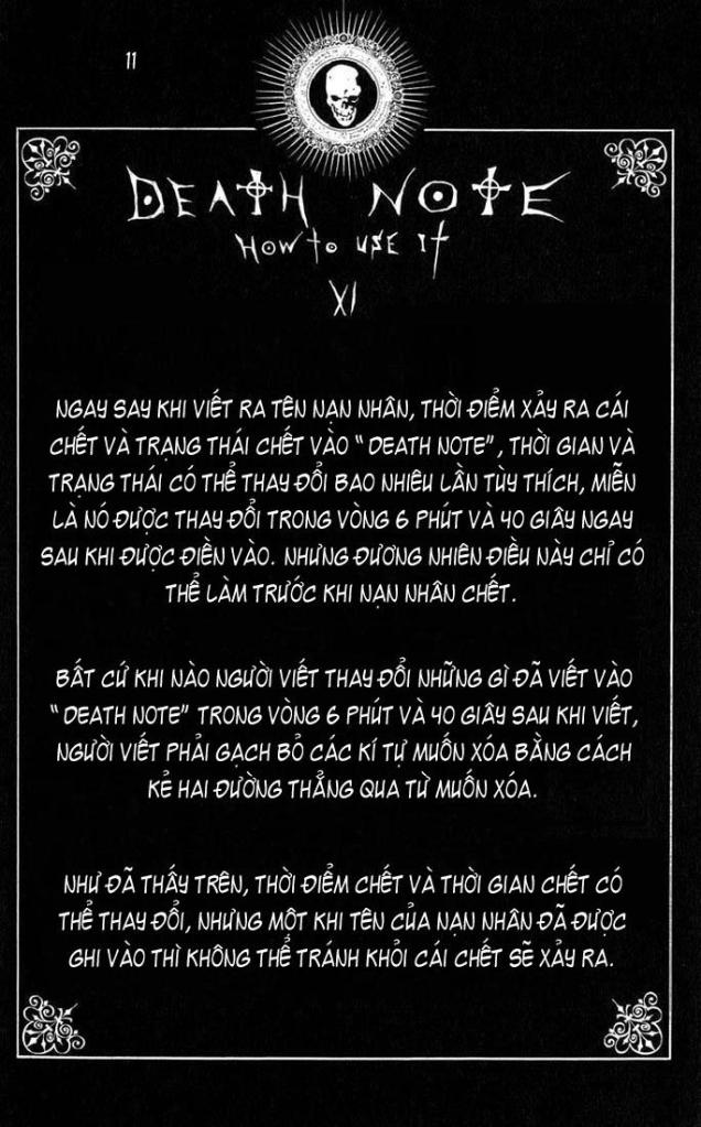 Death Note chapter 110 - how to use trang 14