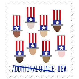 Photo of Uncle Sam's Hat stamp