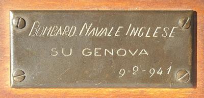 Frammento di ordigno bellico -  Genova