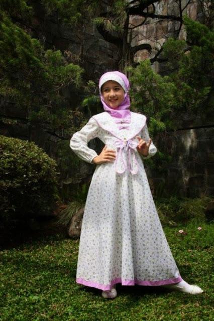 Model Baju Anak Muslim Pesta Terbaru