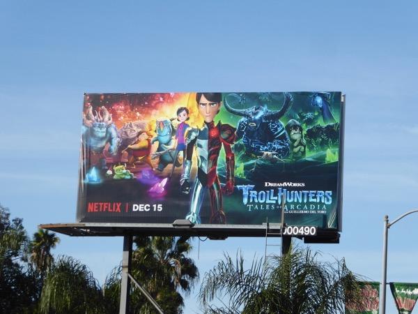 Trollhunters season 2 billboard