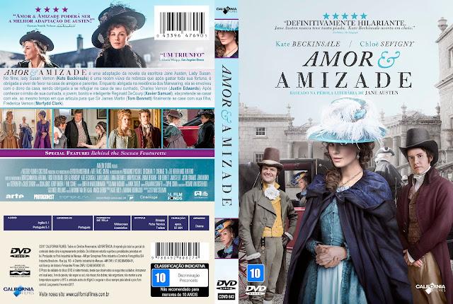 Capa DVD Amor E Amizade