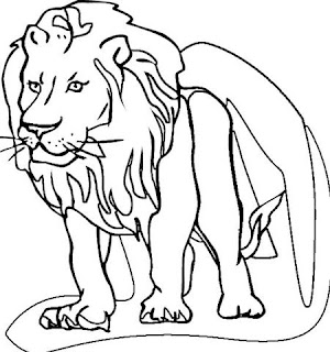 lion coloring pages  learn to coloring