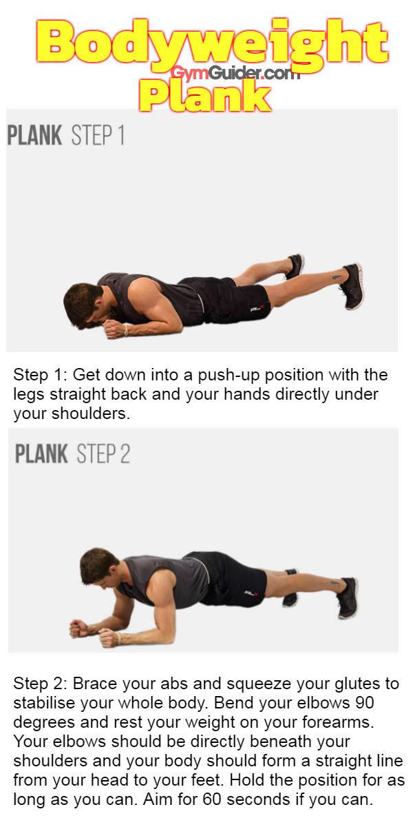 Bodyweight-plank