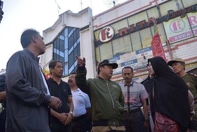 Satu Toko di Pasar Induk Wonosobo terbakar Puslabfor Polda Jateng butuh 1 Bulan Untuk Analisa