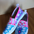 Cool Altered Canvas shoes!