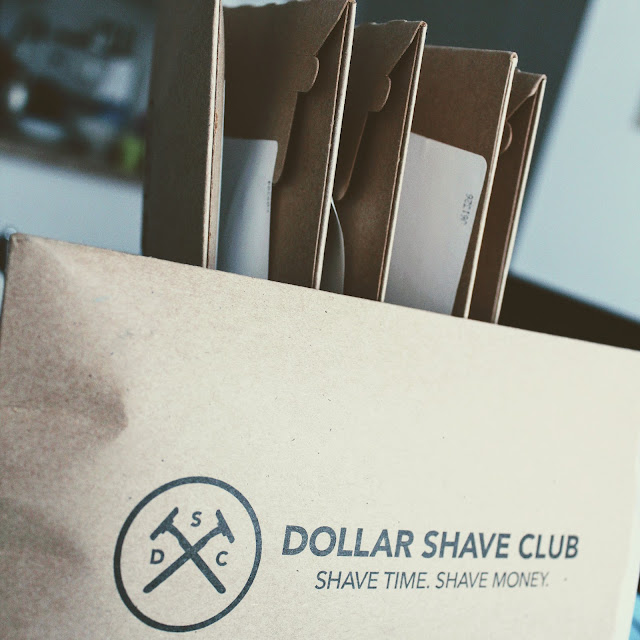 """Dollar Shave Club Canada - The 4X """"The Lover's Blade"""" package."""