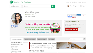 https://www.teacherspayteachers.com/Store/Miss-Campos