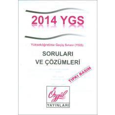 Özgül ÖSYM YGS Soruları ve Çözümleri 2014 Tıpkı Basım (2015)