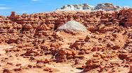 Trips to Alien Landscape of Rock Formation