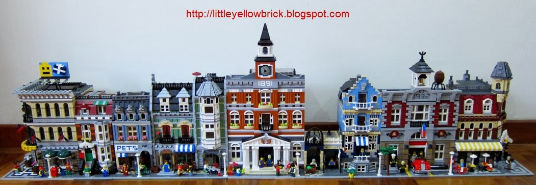 Little Yellow Brick A Lego Blog Our Growing Lego Modular Town