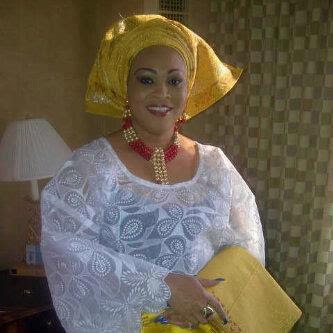 bukky wright traditional wears