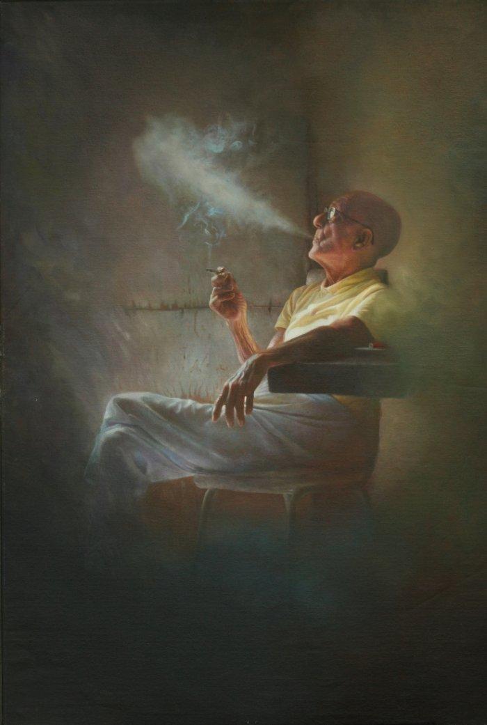 Художник-реалист. Philippe Attie