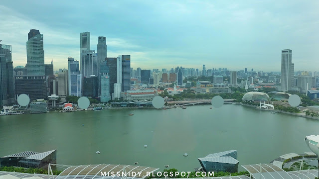 marina bay sands hotel blog review