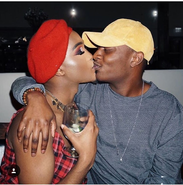 Check out this interesting photos of a black American gay makeup artist