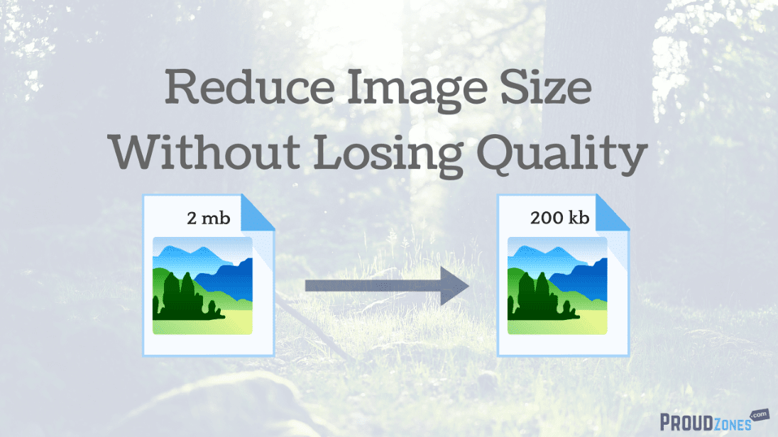 how to make photoshop files smaller without losing quality