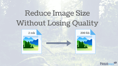 reduce photo size without loosing quality