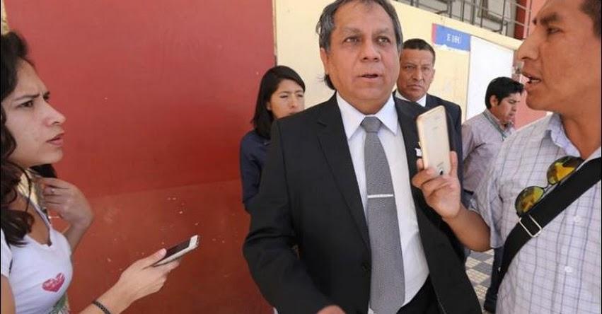 DRE Arequipa defiende a maestros que participaron en huelga indefinida