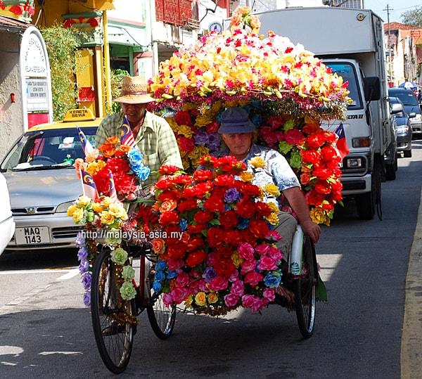 Trishaw Ride Melaka