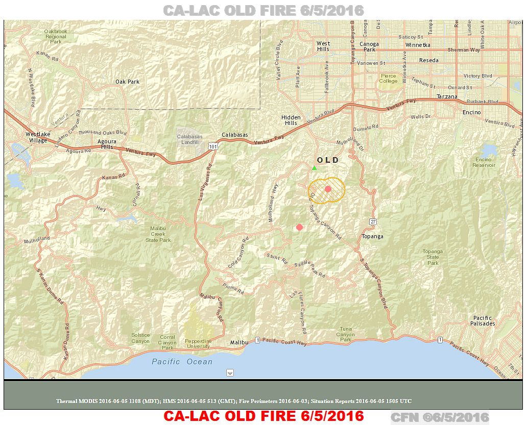 Cfn California Fire News Cal Fire News Ca Lac Old Fire In The