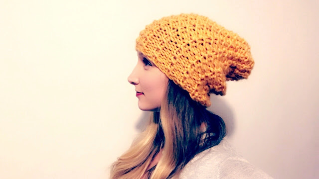 PURL STATEMENT HAT - PDF Pattern