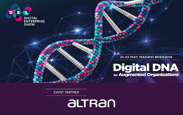 Altran marca presença no Digital Enterprise Show 2019