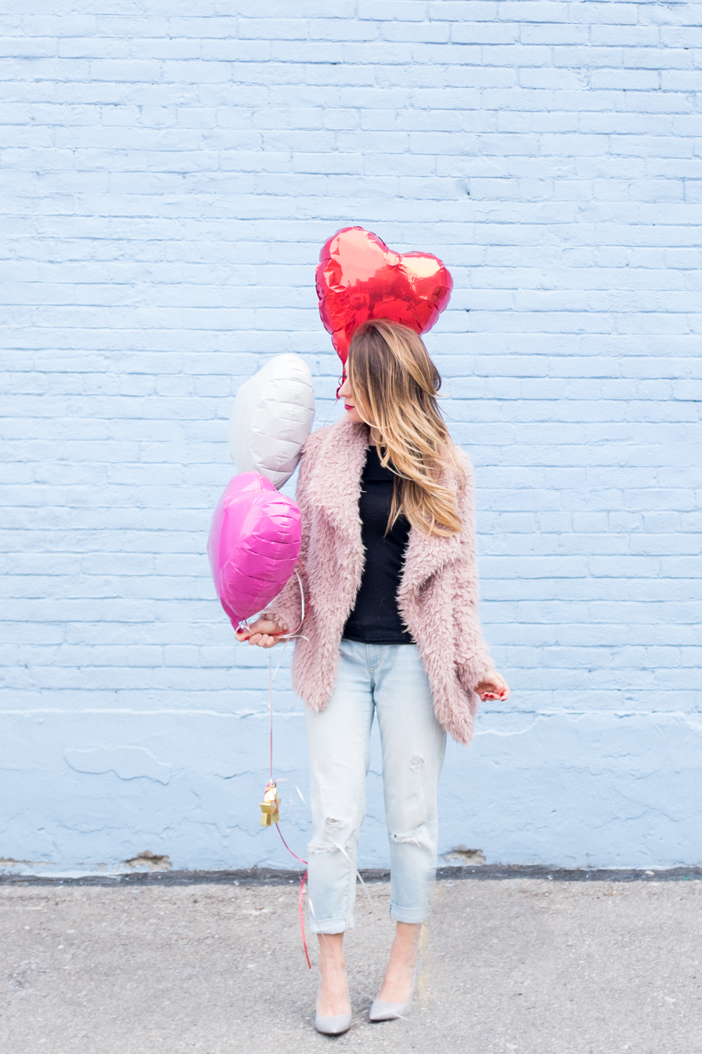 Ootd Casual Valentine S Day Outfit La Petite Noob A Toronto