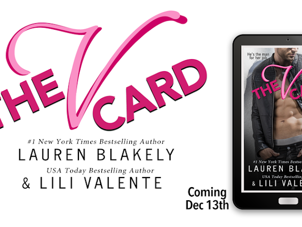 The V Card by Lauren Blakely and Lili Valente | Cover Reveal