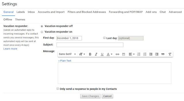 Cara Membalas Email Secara Otomatis (AutoReply) di Gmail
