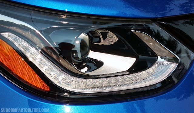 2017 Chevrolet Bolt LT headlight - Subcompact Culture