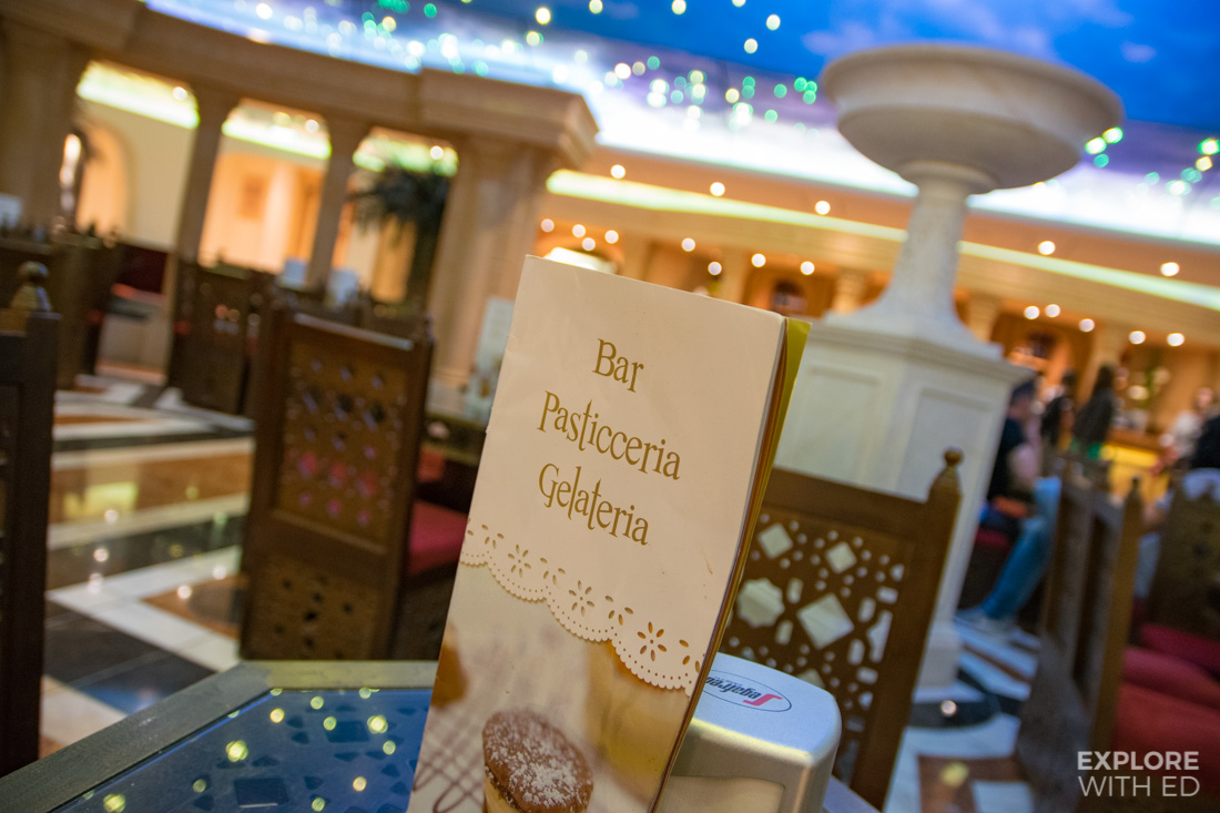 Gelateria Bar on MSC Preziosa