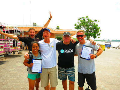 PADI IE on Phuket for May 2017 was very successful