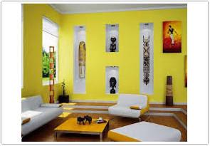 warna cat ruang tamu menurut feng shui kuning