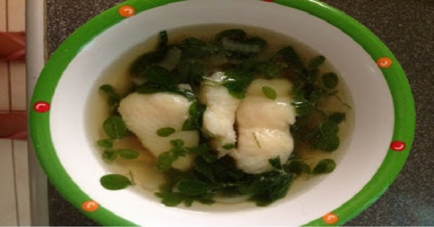 Dory In Ginger Soup Recipe