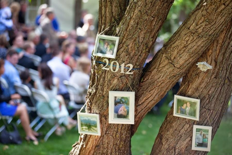 Pon un Árbol de los Recuerdos en tu Boda.
