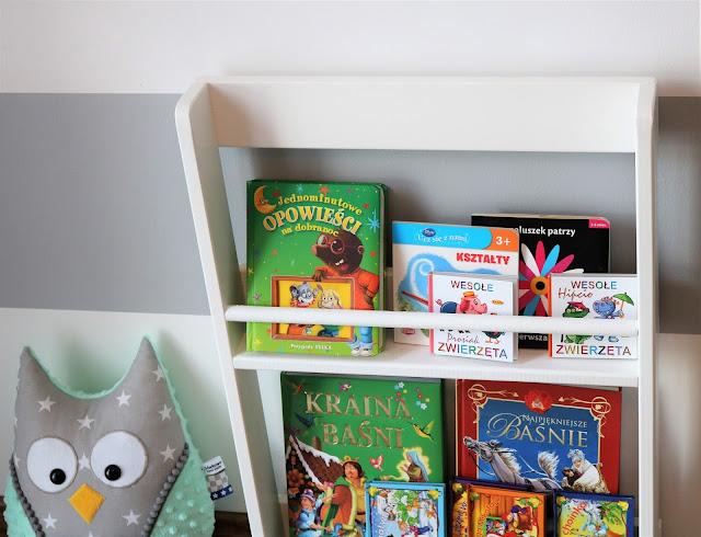 półka na książki diy