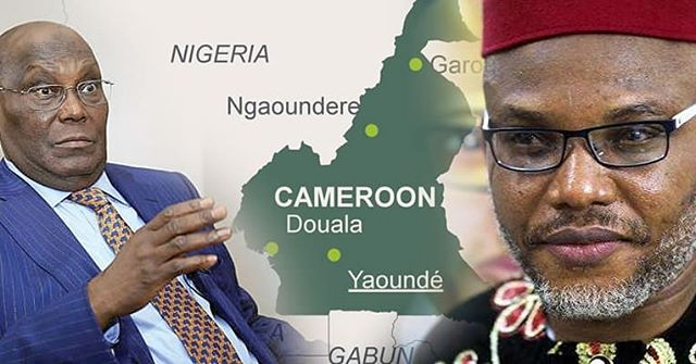 Nnamdi Kanu Insist Atiku Is From Cameroon, Provides Proofs .